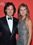 David Lauren And Lauren Bush at the Lincoln Centre.