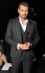 Kellan Lutz at Joseph Abboud