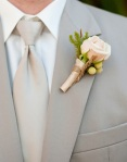 Boutonnieres-cream rose