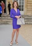 PFW-Natalia Vodianova at Dior