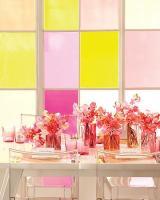 Sheer citrus and pink