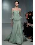 Spring green Vera Wang dress