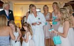 Tiffany & Co presents for the bridesmaids and flower girls