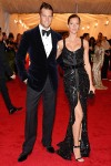 Gisele Bundchen in Givenchy and Tom Brady in Tom Ford