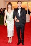 Jessica Biel in Prada and Justin Timberlake