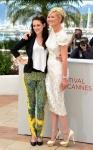 Kristen Stewart in Balenciaga & Kirsten Durst in Dolce & Gabbana