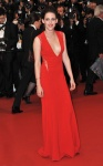 Kristen Stewart in Reem Acra and Cartier