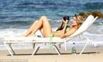 LeAnn sunbathing
