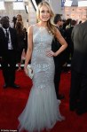 Katrina Bowden in Badgley Mischka