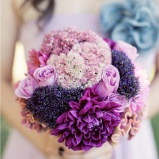 Bouquet 13 lila