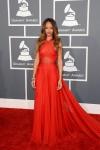 Rihanna in Azzedine Alaïa