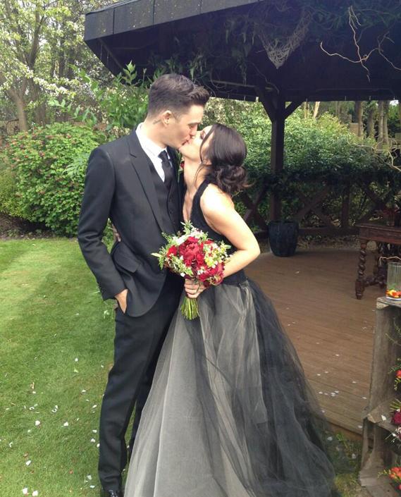 Vera Wang Vestido de novia negro   Bodastoryblog