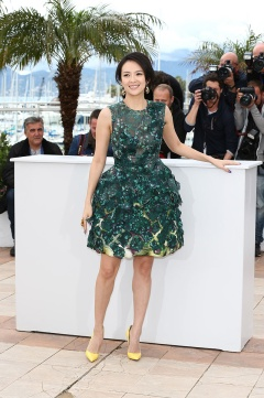 Zhang Ziyi in Giambattista Valli