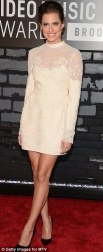Allison Williams in Valentino