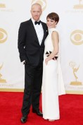 Damian Lewis in Tom Ford with Helen McCrory