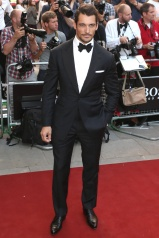 GQ David Gandy in Henry Poole & Co