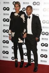 GQ Pharrell Williams y su mujer Helen Lasichanh in Lanvin