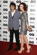 GQ Ronnie Wood y su mujer Sally Humhpries