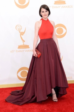 Michelle Dockery in Prada
