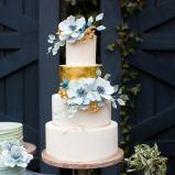 blue FlyAway Bride