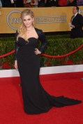 Abigail Breslin chose to wear a Chagoury gown and Giuseppe Zanotti heels