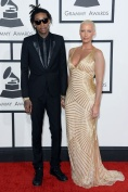 Amber Rose in Naeem Khan with Wiz Khalifa