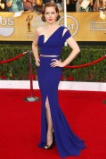 Amy Adams wore a dress by Antonio Berardi with Jimmy Choo heels