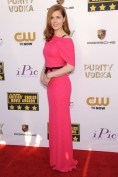 Amy Adams wore a Roland Mouret gown with jewellery by Neil Lane