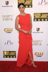 Camila Alves chose a gown from Paule Ka