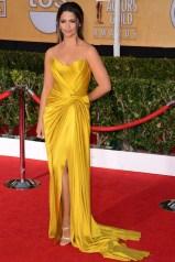 Camila Alves wore a Donna Karan Atelier silk gown
