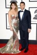 Chrissy Teigen wore a Johanna Johnson gown, while her husband John Legend wore a Gucci tuxedo