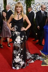 Heidi Klum chose a gown from the Marchesa