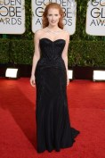 Jessica Chastain in Givenchy by Riccardo Tisci and Bulgari