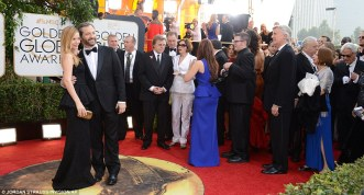 Judd Apatow and Leslie Mann in Dolce & Gabbana