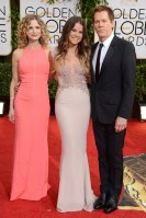 Kyra Sedgwick and Kevin Bacon with their daughter Sosie
