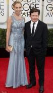 Michael J Fox and wife Tracy Pollan