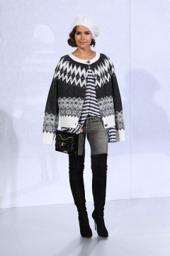 Miroslava Duma in Chanel