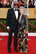 Morgan Freeman and Rita Moreno