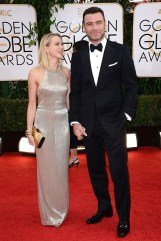 Naomi Watts and Liev Schreiber - both wearing Tom Ford