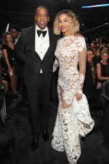 Beyoncé in Michael Costello with Jay-Z