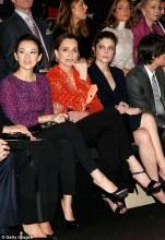 Zhang Ziyi, Kristin Scott Thomas and Chiara Mastroianni at Armani