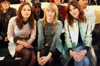 Atlanta de Cadenet, Tennessee Thomas and Alexa Chung at Marc by Marc Jacobs