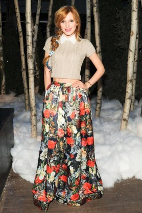 Bella Thorne at Alice & Olivia