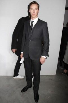 Benedict Cumberbatch at Hugo Boss