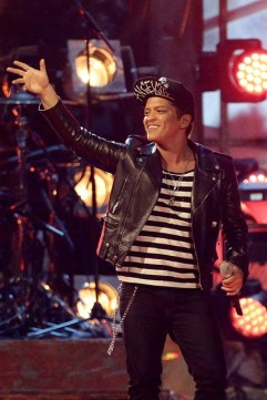 Bruno Mars in Saint Laurent