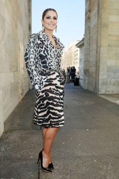 Cheryl Cole at Roberto Cavalli