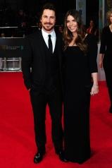 Christian Bale in Dolce & Gabbana with Sibi Blazic