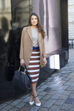Francesca Donnelly in ASOS with Zara shoes