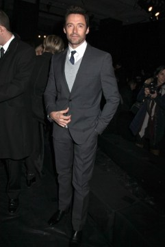 Hugh Jackman at Donna Karan