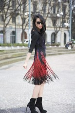 Ingrid Chen in Just Cavalli